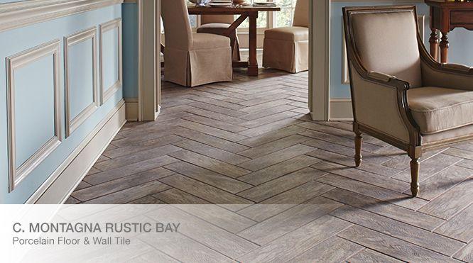 Homedepot Rustc wood tile flooring | Around the house | Pinterest ...