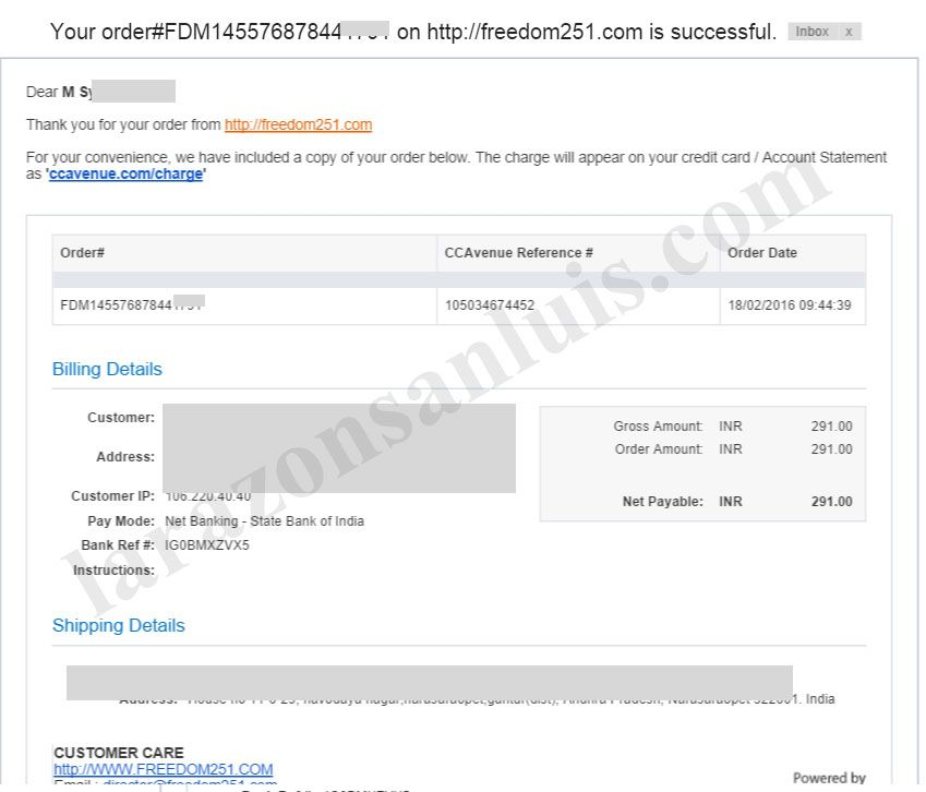 How To Book Freedom 251 Smartphone Online Order 251 Rs Order Online Freedom