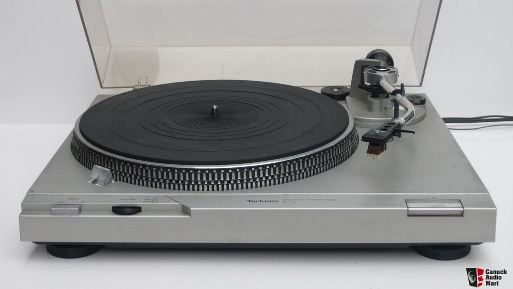 Vintage Technics Sl D1 Direct Drive Manual Turntable Shure M70 W New Old Stock Stylus Photo770716 Tornamesa Tocadiscos
