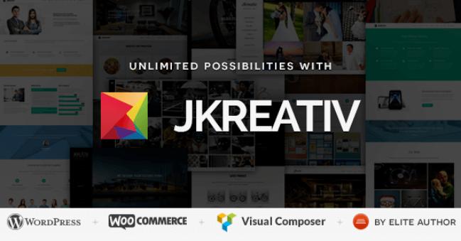 Jkreativ v2 5 - Multilayer Parallax MultiPurpose WordPress