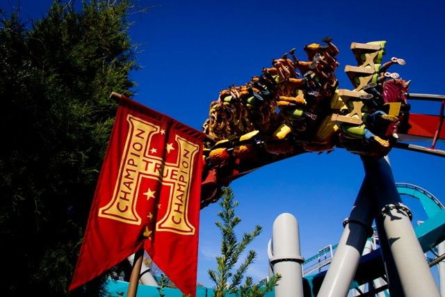 Dragon Challenge ride at The Wizarding World of Harry Potter Orlando