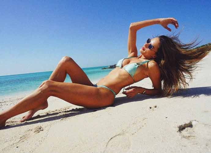 Alessandra Ambrosio Looks Stylish In Bikini In Abu Dhabi