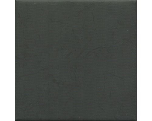 Bodenfliese Terra schwarz matt 19,7x19,7 cm bei HORNBACH ...