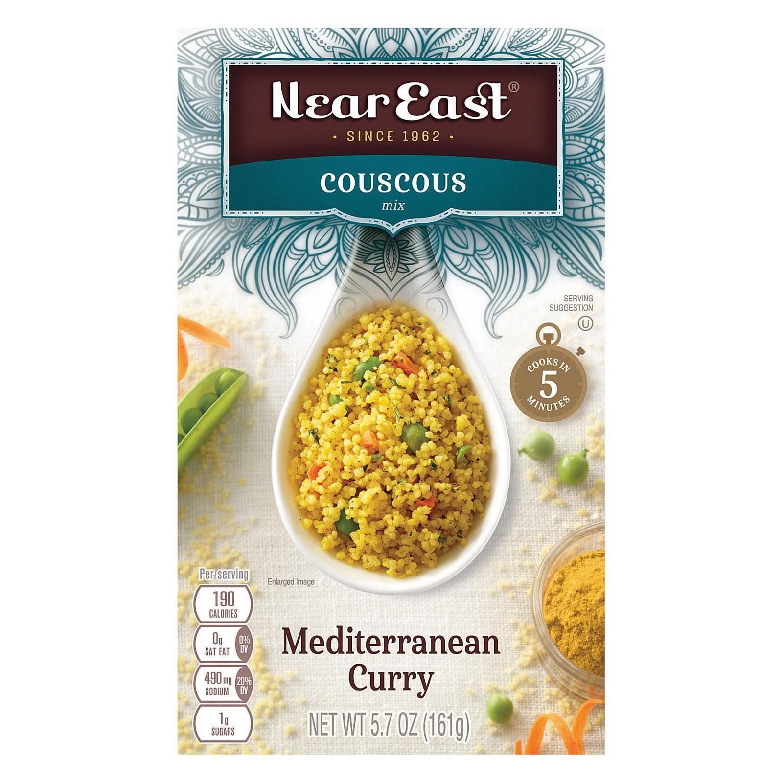 Near East Couscous Mix Mediterranean Curry Case Of 12