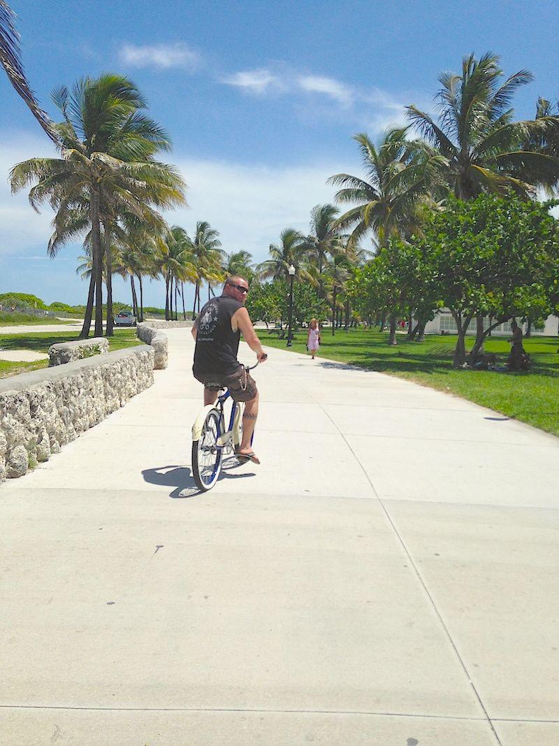 South Beach Miami Bike Ride Adventure Mamanellie