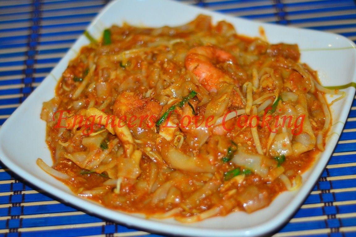 Penang Char Kuey Teow Sauce Penang Char Kuey Teow Recipe Ingredients 5 Cups Shrimp Broth Boiled Shrimp For Broth 5 Tablespoo Memasak Masakan Burger