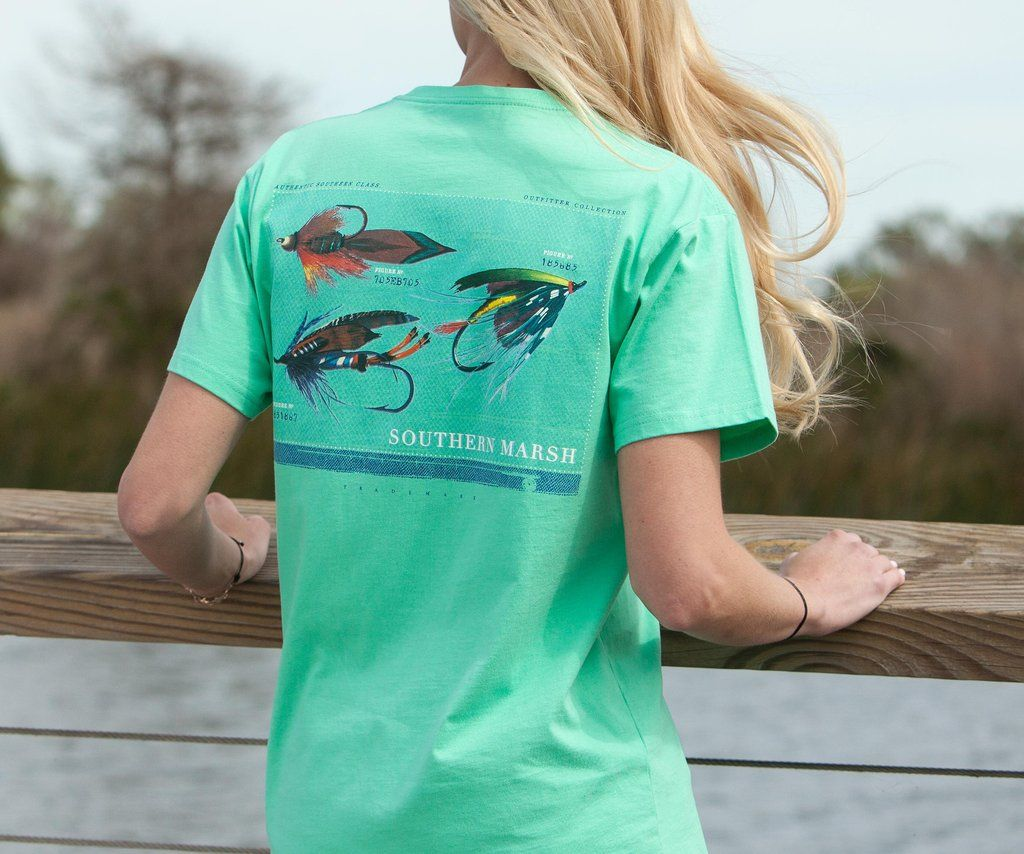 Outfitter series tee collection southern marsh