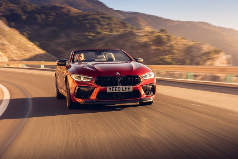 Photo Gallery: The new BMW M8 Competition models hit UK streets