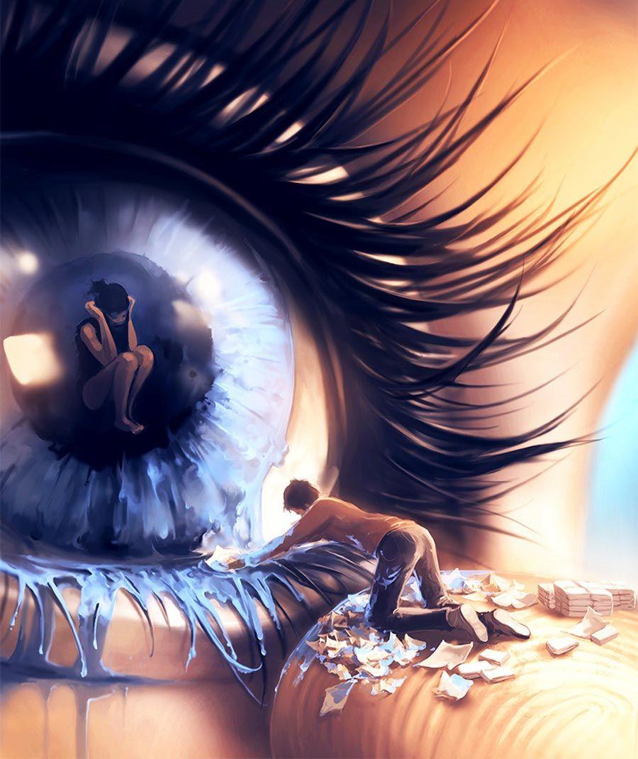 Digital Paintings: AquaSixio - Surreal-verträumte Motive aus Frankreich