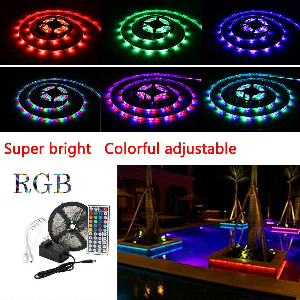 Sponsored Ebay Rv Camper Led Awning Light Set W Ir Remote 44 Key Rgb 16 3528 Waterproof Fashion Awning Lights Led Strip Lighting Waterproof Led