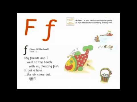 Jolly Letter F Jolly Phonics Pinterest