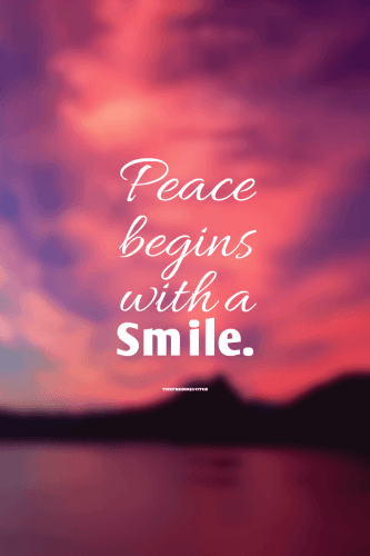 72 Beautiful Inspiring Smile Quotes Smile quotes, World