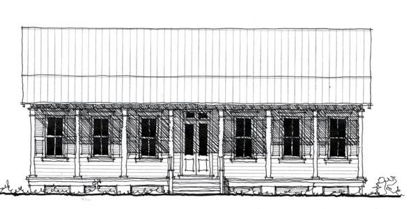 Lowcountry House Plan Chp-49769 At COOLhouseplans.com