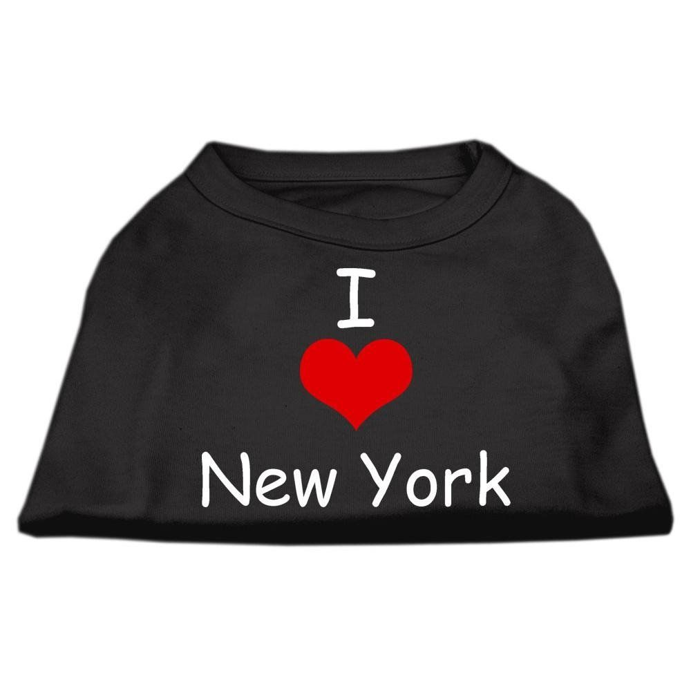 Mirage cat Products 12 Inch I Love New York Screen Print Shirts