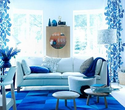 Blue Interior Blue Living Room Decor Living Room Decor