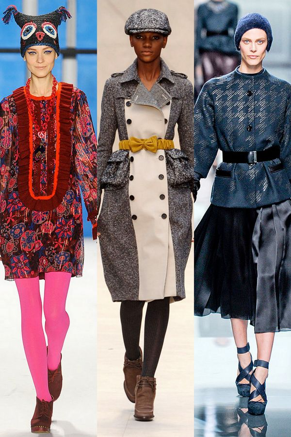 0cea05e6f64 That middle runway look makes me happy. Burberry. Owl Hat