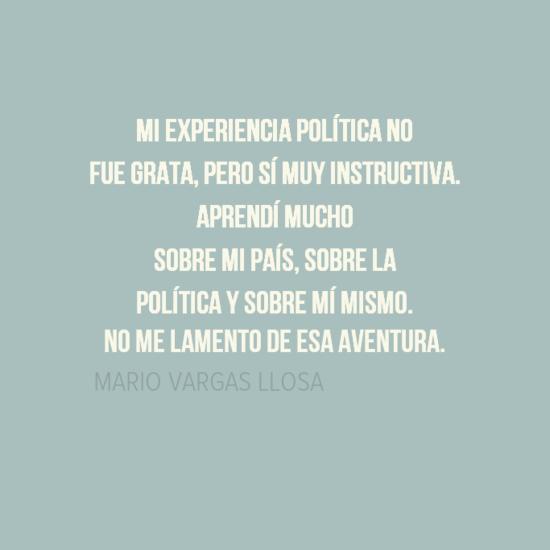 Frases Bonitas Y Versos De Amor Vargas Llosa Aventura