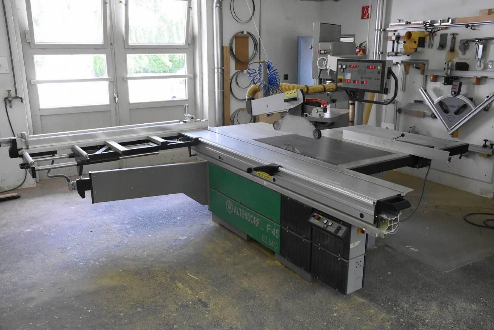 Auction Altendorf F45 Elmo Iv In 2020 Sliding Table Saw Sliding Table Elmo