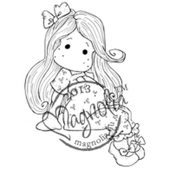 Magnolia 2013 Once Upon A Time Cling Stamp Princess Pea Tilda, , hi-res