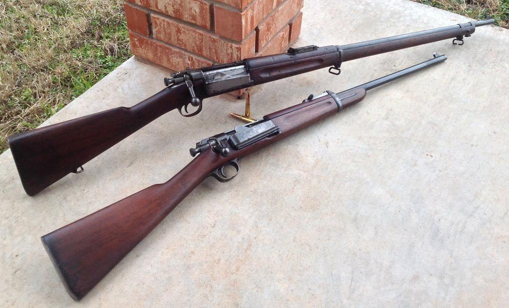 Krag Jorgensen 30 40 Krag Rifle And Cavalry Carbine The