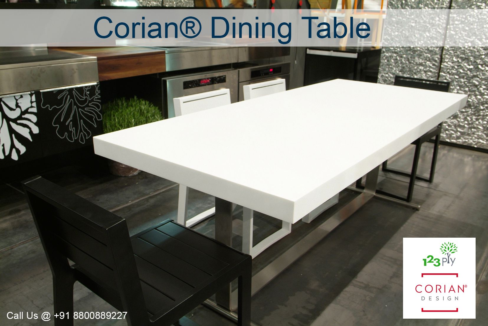 Dupont Corian Dining Table Design Explore Your Dining Table With