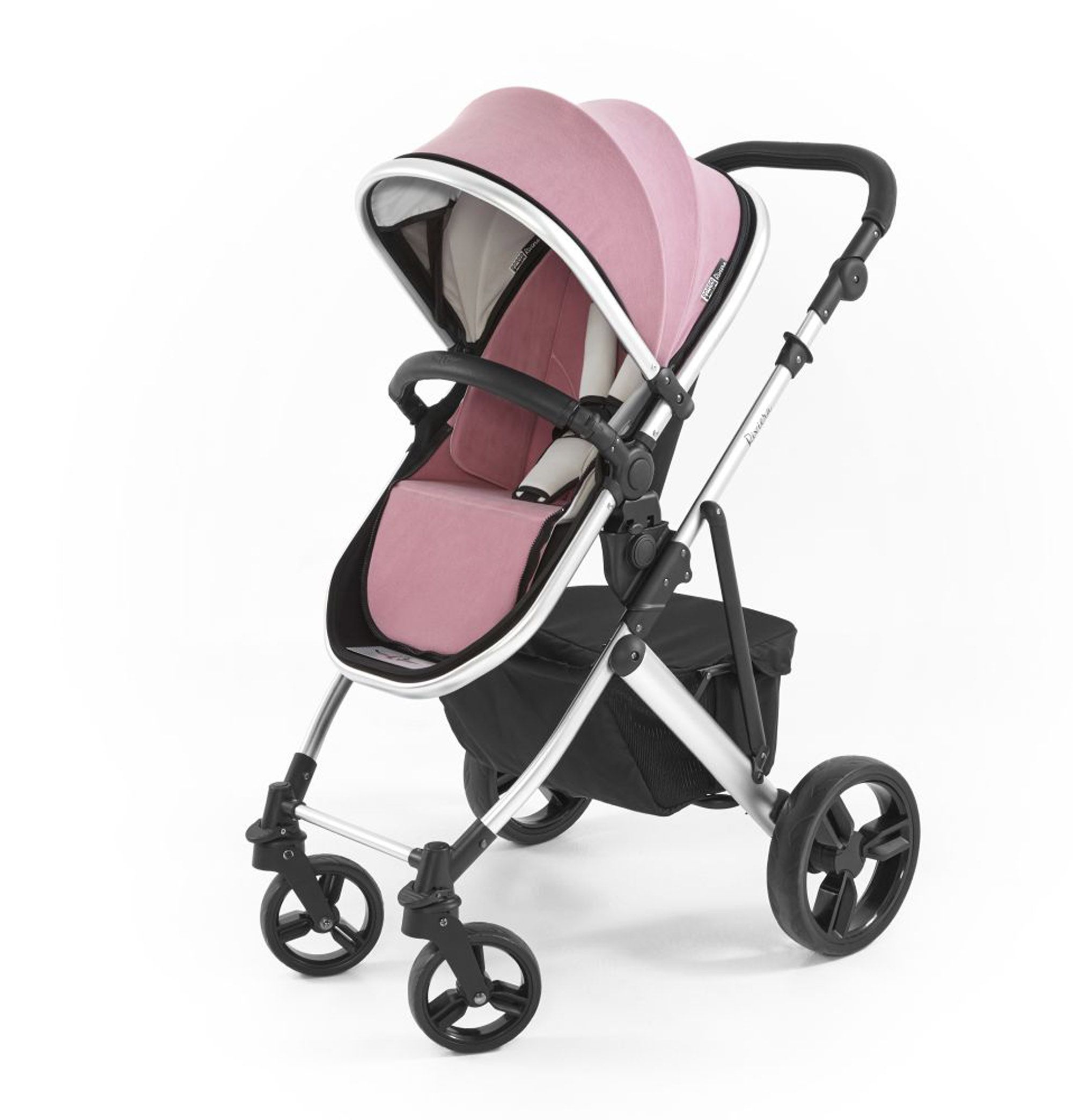 Tutti Bambini Riviera Plus 2 in 1 Silver Pushchair Dusty
