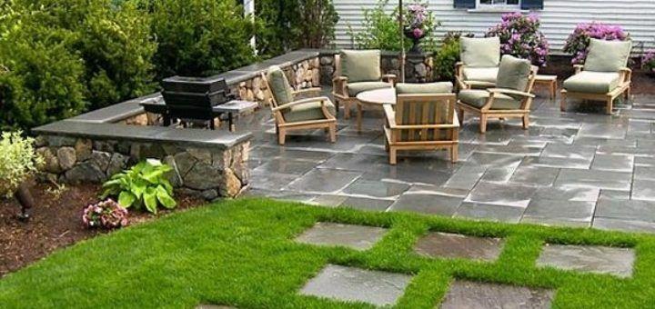 Idee amenagement terrasse exterieur - les plantes des cevennes ...