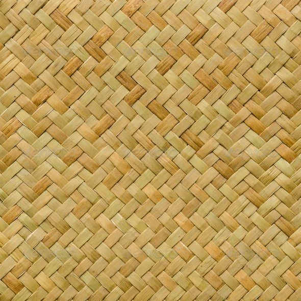 Traditional Thai Style Pattern Nature Background Of Brown