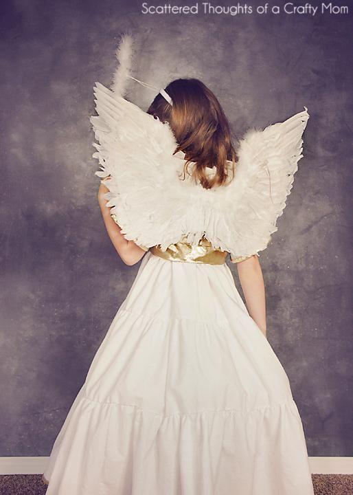 374b90b771 DIY Christmas Angel   DIY Angel Costume