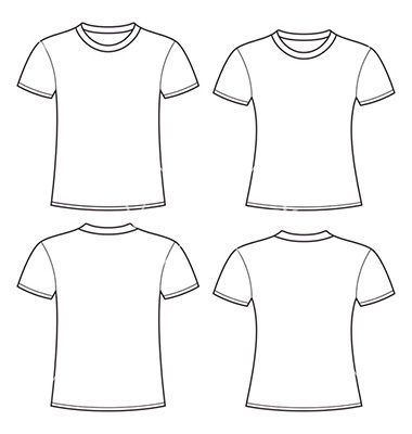 Blank+t-shirts+template+vector+1557862+-+by+nikolae on