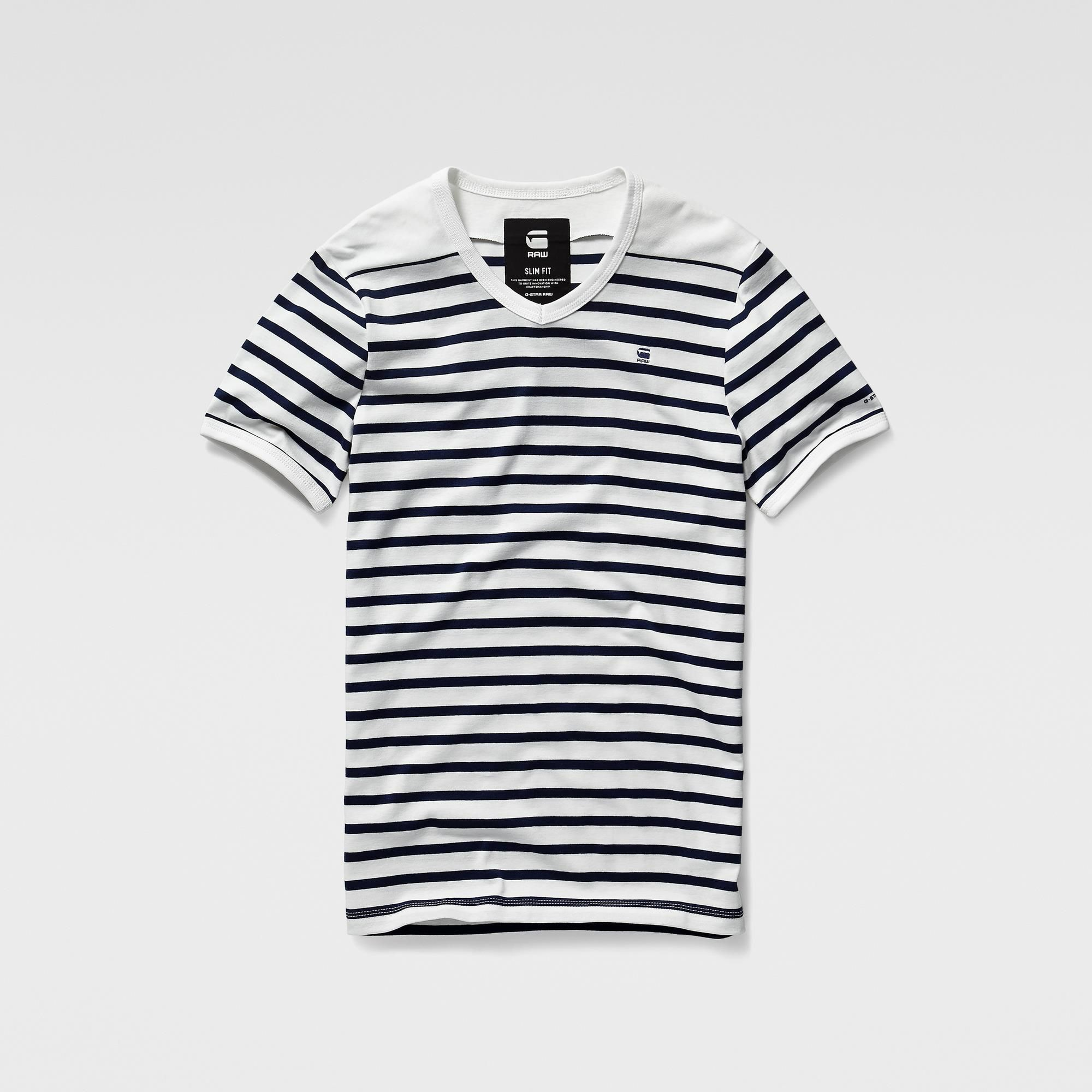 17c128f998 Ramic Stripe Short Sleeve T-shirt G Star Raw, Striped Shorts, Tee Shirts