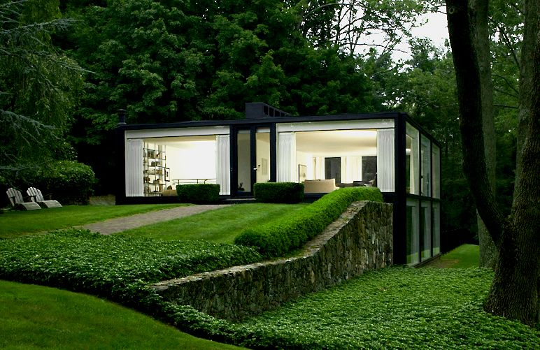 augustus mino 39 s glass house designed by robert fitzpatrick. Black Bedroom Furniture Sets. Home Design Ideas
