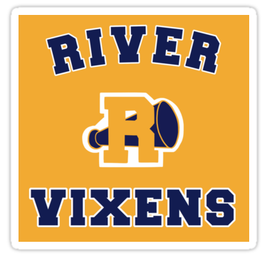 Riverdale River Vixens Sticker By Retr0babe In 2021 Riverdale Riverdale Poster Stickers