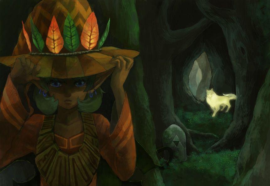 Saria As Twilight Princess Skull Kid I Have So Many Feels When I