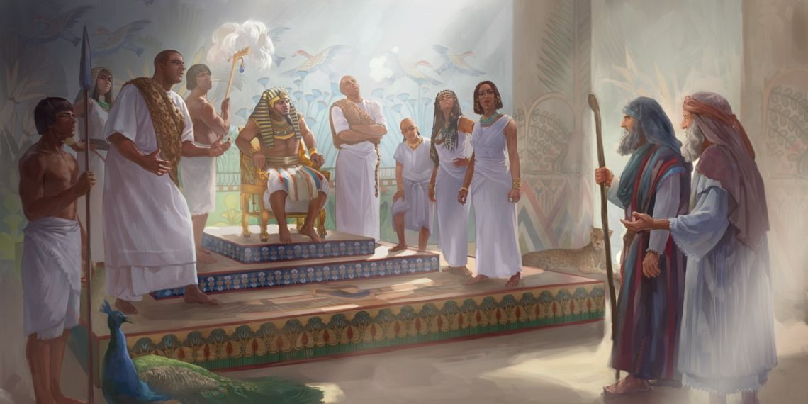 The First Three Plagues Of Egypt Bible Pictures Life In Egypt