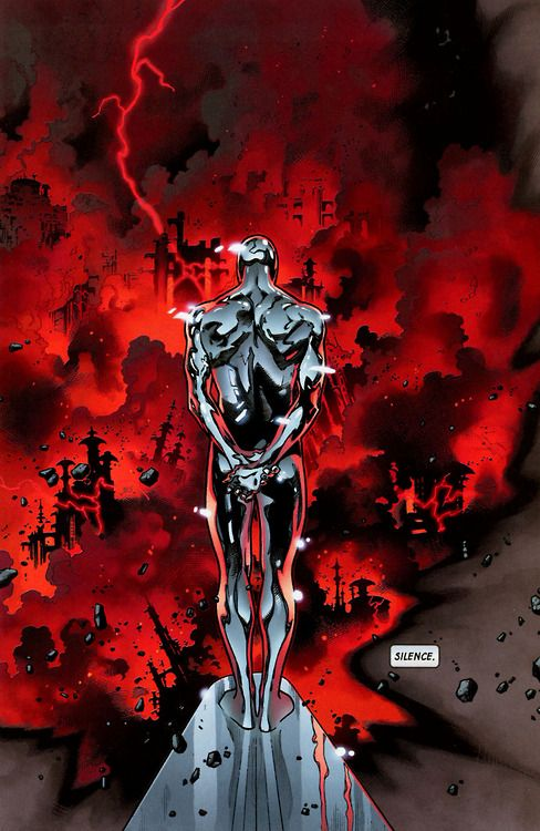 I always like to remember that Silver Surfer started out as a bad guy.