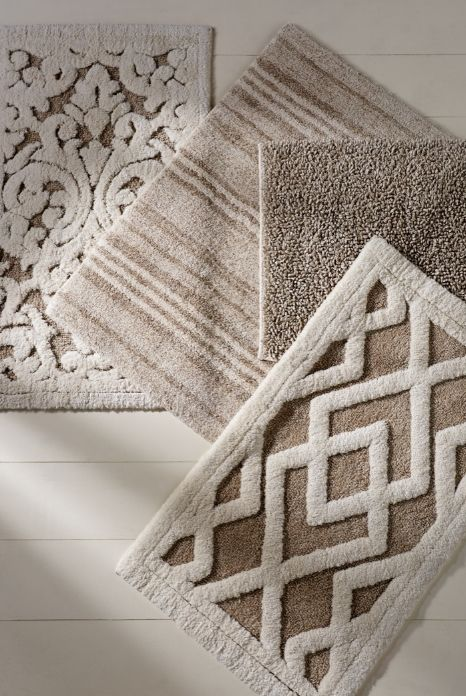 Designer Badteppich Fall In Love With Linen. All-natural Fibers Are Delectable