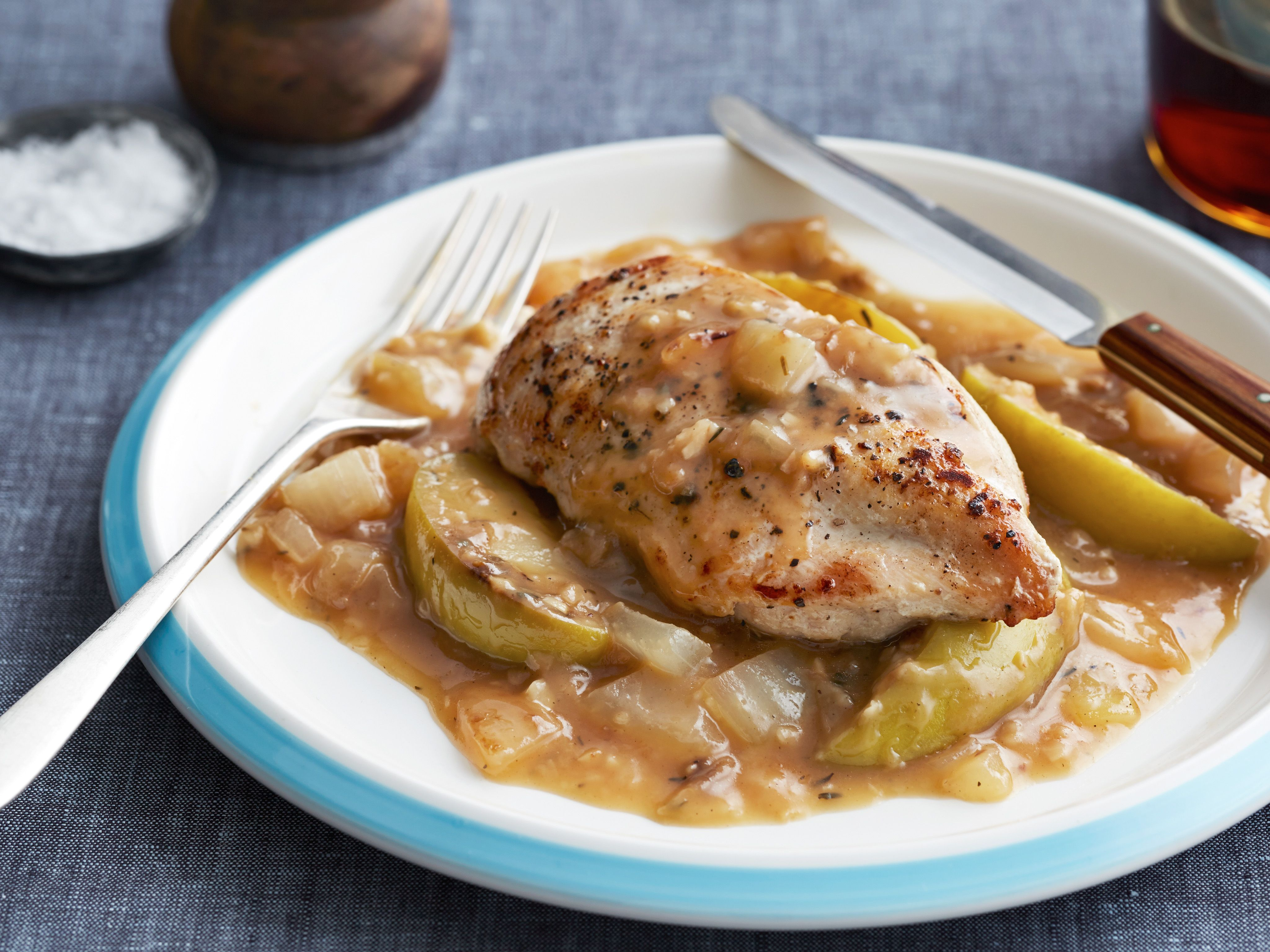 Apple cider chicken recipe sunny anderson apple cider and apples apple cider chicken forumfinder Images