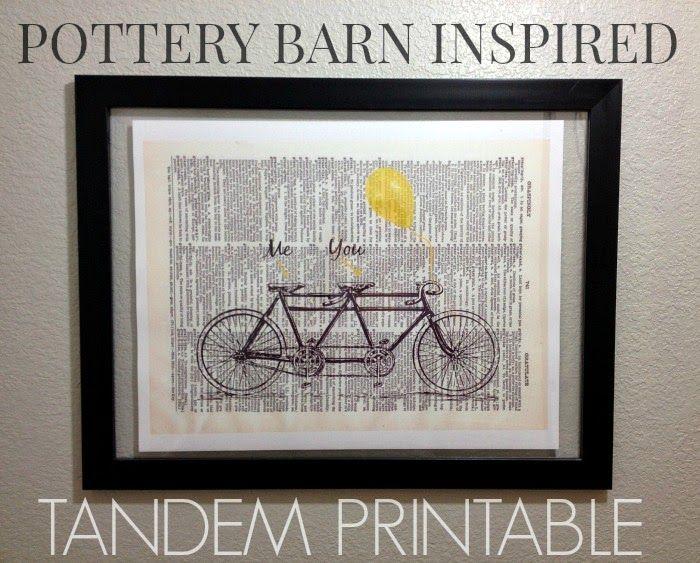 Pottery Barn Inspired Tandem Art Pottery Barn Inspired