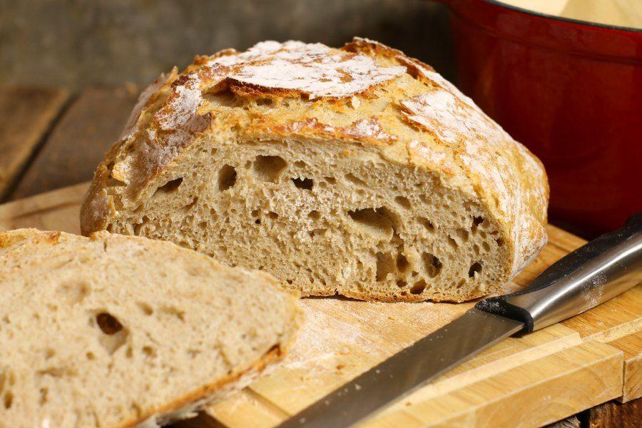 No Knead Sourdough Bread | Recipe in 2020 | Sourdough ...