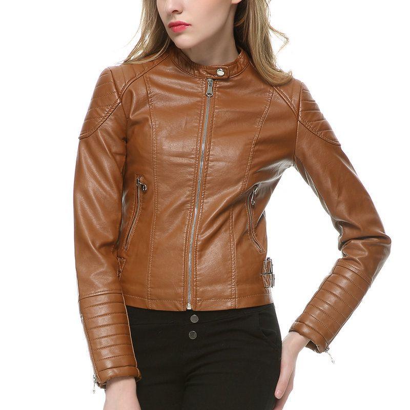 Womens leather Biker Jackets.....http://www.leathernxg.com ...