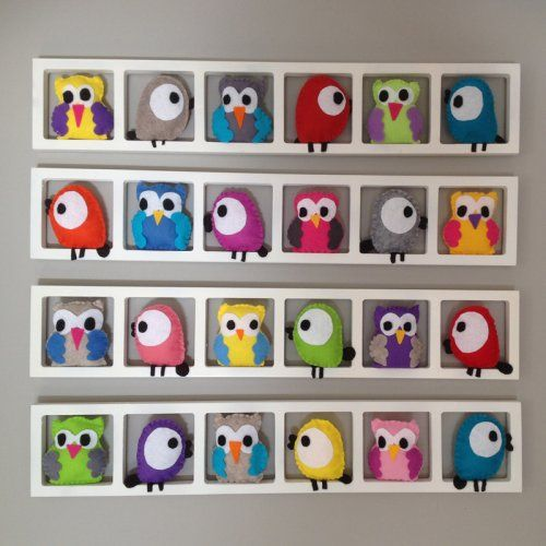 cadre mural d coration chambre d 39 enfant hiboux des bois chambre d 39 enfant pinterest cadre. Black Bedroom Furniture Sets. Home Design Ideas