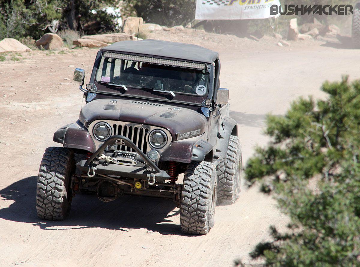 Bushwacker attends the 2015 Easter Jeep Safari in Moab Utah
