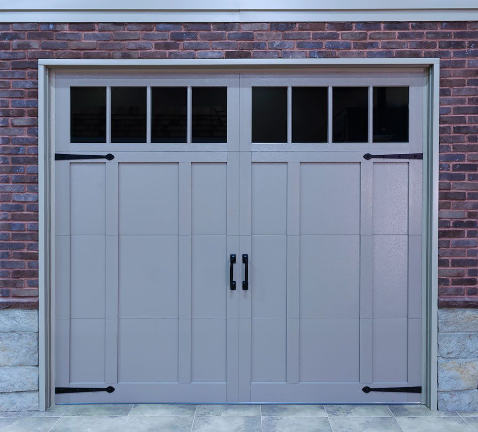 Aluminum Capping Garage Door Garage Doors Garage Door Types Garage