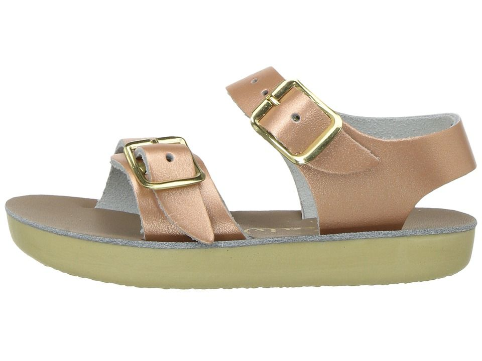 b09862d8836 Salt Water Sandal by Hoy Shoes Sun-San - Sea Wees (Infant Toddler) Girls Shoes  Rose Gold