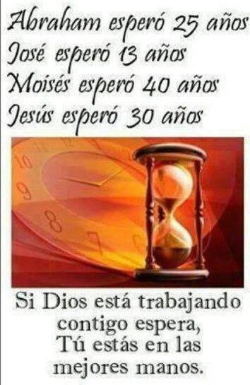Solo espera en Dios y va a ver el milagro que estas esperandon