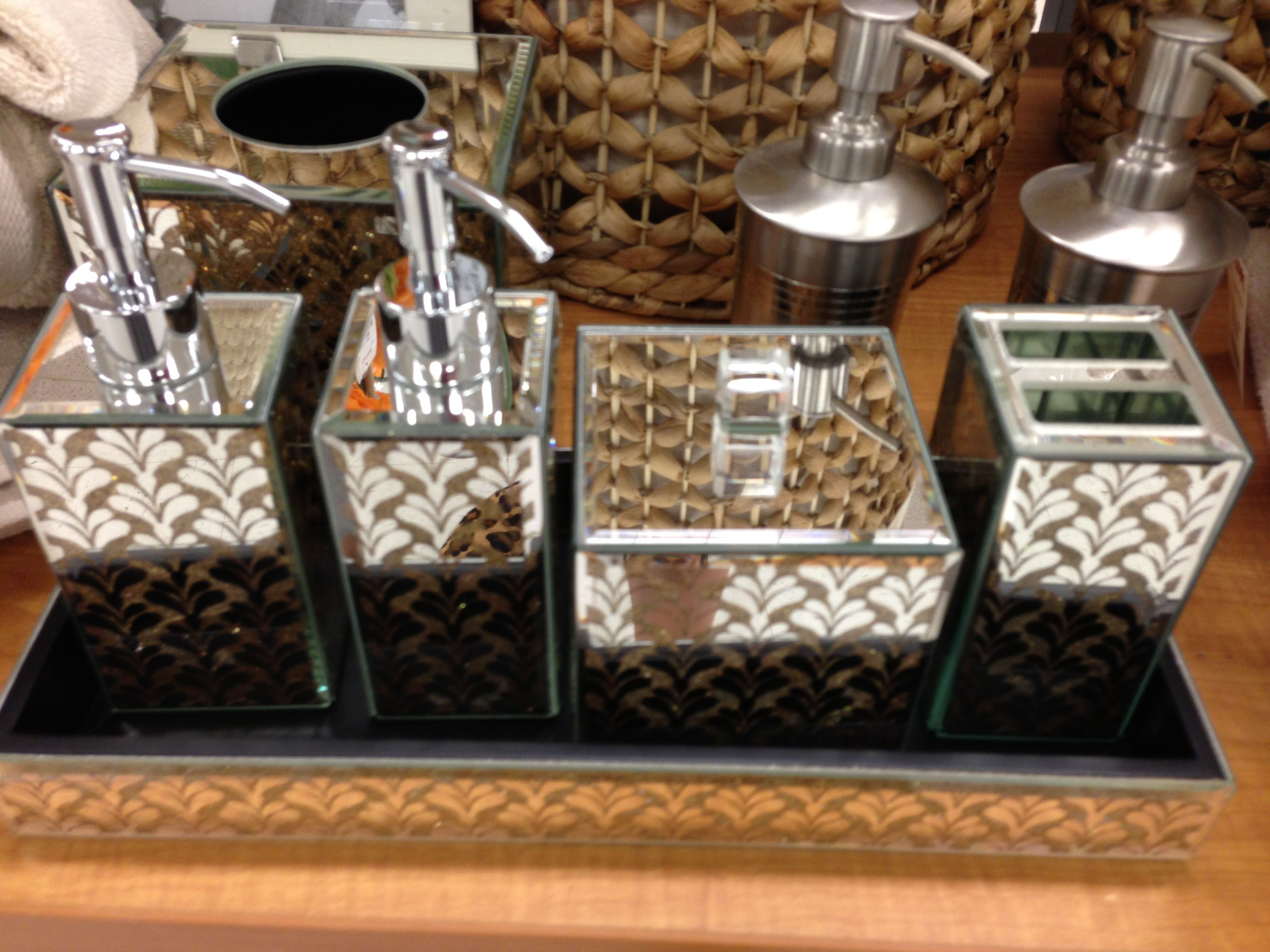 Bathroom Accessories Tj Maxx With Images Bathroom Sets