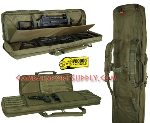 Css Voodoo Tactical Padded Four Weapons Gun Case 36