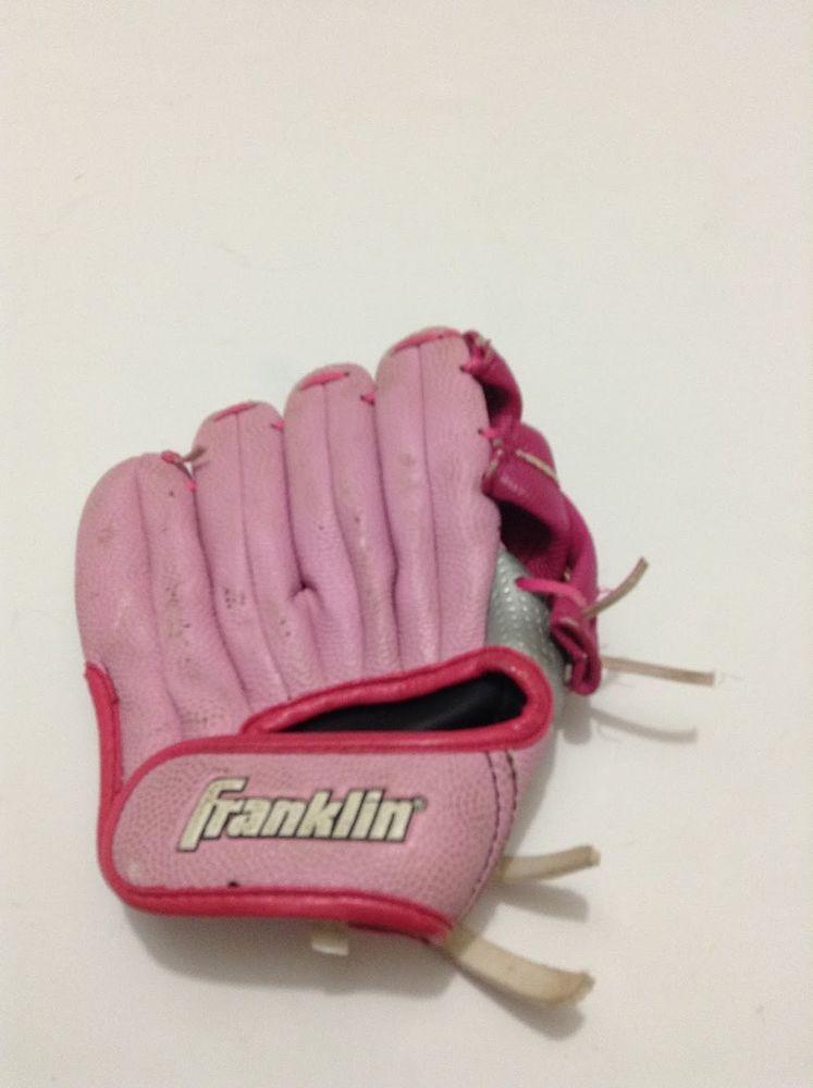 Pink Franklin Baseball Softball Tee Ball Glove Size 10n Rht
