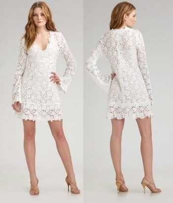 forma elegante compra especial más cerca de Modelos de vestidos para noche blanca | ropa linda ...